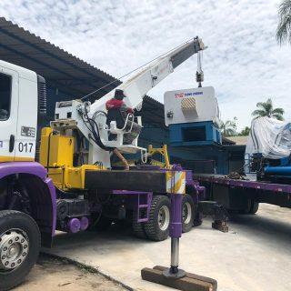 Transporte de Injetoras, Operatrizes e Máquinas em Geral